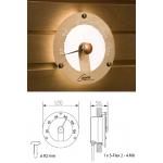 Термометр (оптоволоконные светильники для сауны)