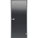 Дверь ALU 7x19 (Harvia), стекло 'бронза'