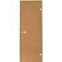 Дверь STG 9x19 (Harvia) ольха, стекло 'бронза'
